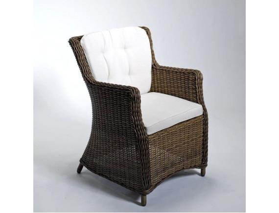 Кресло из ротанга LUNA коричневое
