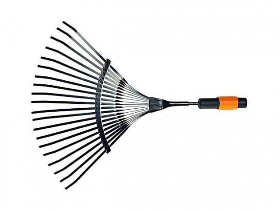 Грабли для уборки листьев 20 зубцов Fiskars QuikFit