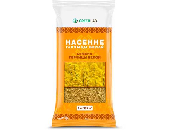 Горчица белая семена (сидераты), 1кг