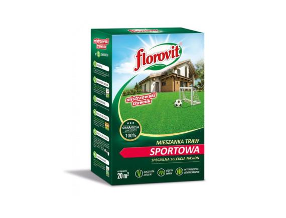 Семена газонной травы Флоровит Спортивная, коробка 0,5кг