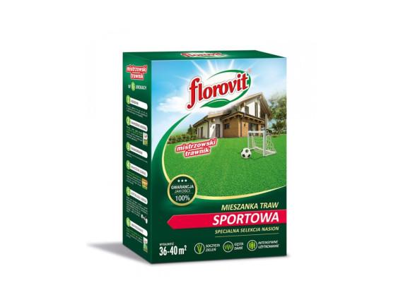 Семена газонной травы Флоровит Спортивная, коробка 0,9кг