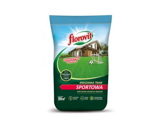 Семена газонной травы Флоровит Спортивная, мешок 5кг