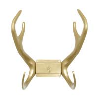 Держатель для шланга в виде рогов оленя Reindeer Garden Glory (золотой)