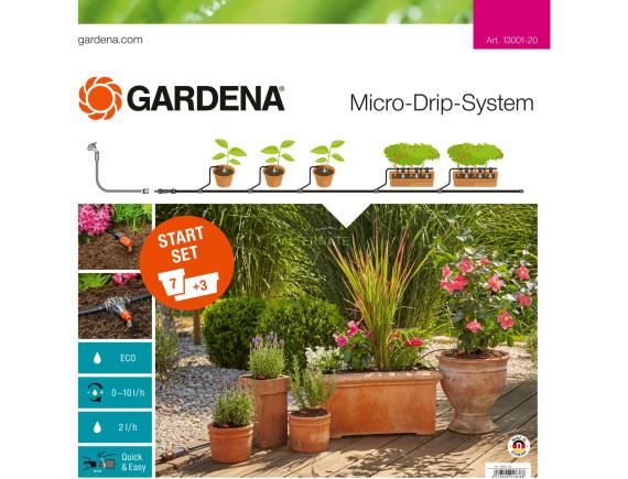Комплект микрополива базовый для террас Gardena