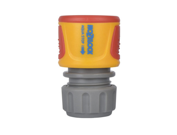 Коннектор HoZelock Классик с Аквастоп 2075 (12,5 мм и 15 мм)