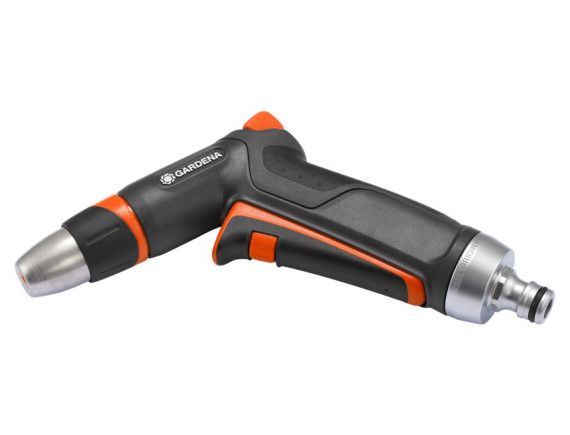 Пистолет-наконечник для полива Gardena Premium с фиксатором