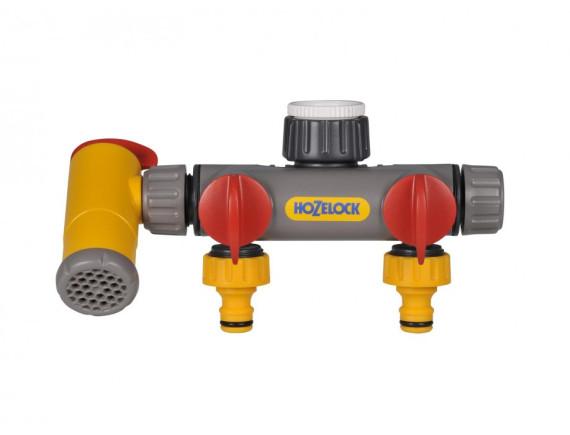 Разделитель потоков двухпутевой с краном HoZelock Flow Max 2250