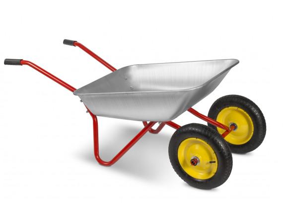 Тачка садовая двухколёсная ТехноАрт Комфорт 65 л, 90 кг