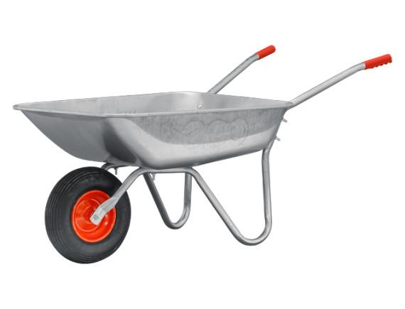 Тачка садовая ECO WB140-1 (75 л, 140 кг, 1 пневмоколесо 3.5-6)