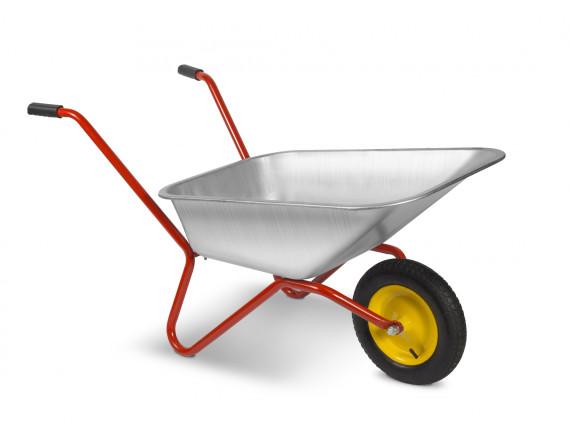 Тачка садовая одноколёсная ТехноАрт Комфорт, 80 л, 100 кг