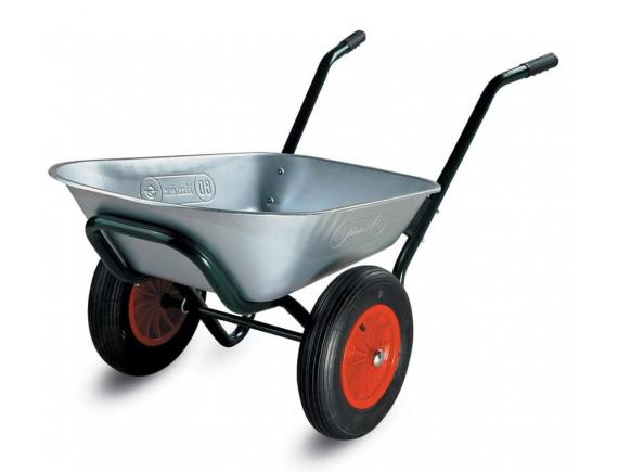 Тачка строительно-садовая двухколесная Limex Т-070С 100 л