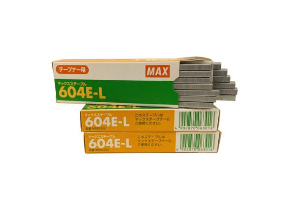 Скобы для тапенера Max 604 E-L, упаковка 4800 шт, Япония