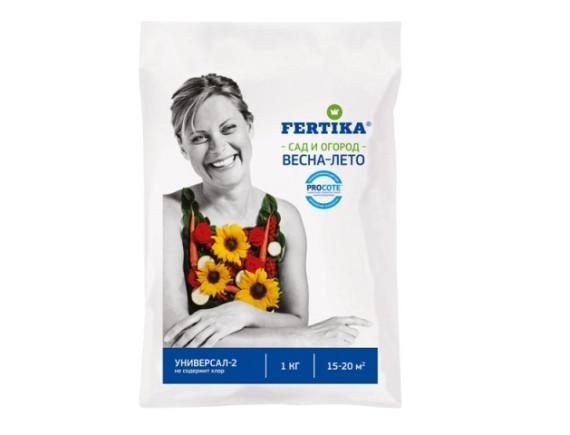 Комплексное удобрение Универсал-2 Fertika Весна-Лето, 1 кг
