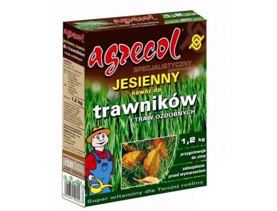 Осеннее удобрение для газона Agrecol