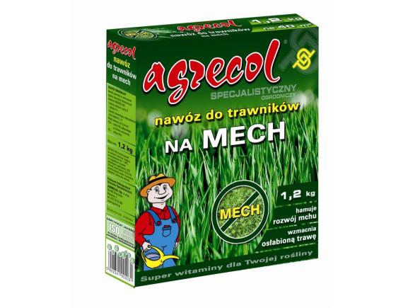 Удобрение Agrecol для газона против мха