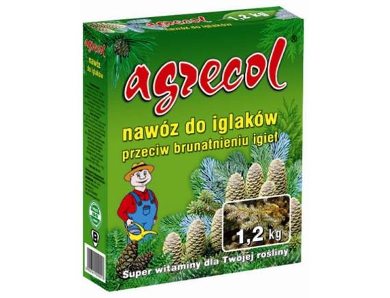 Удобрение Agrecol для хвойных против пожелтения хвои