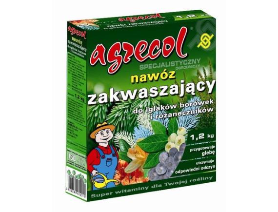 Удобрение Agrecol для хвойных растений подкисляющее