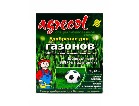 Удобрение Agrecol для газона многокомпонентное