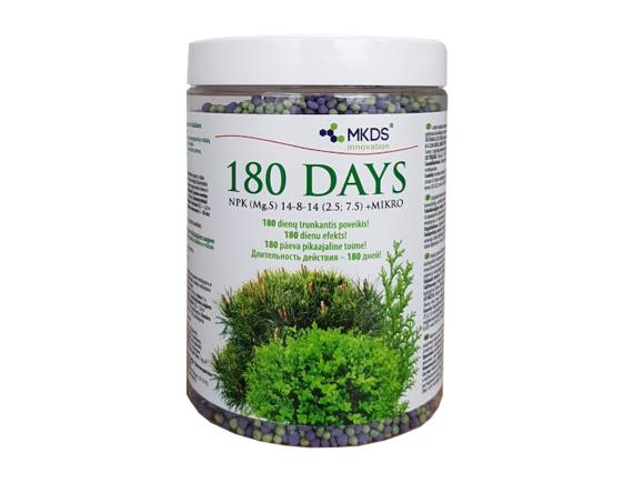 Удобрение длительного действия 180 DAYS для хвойных и вечнозеленых растений