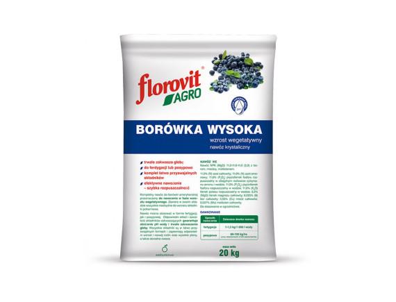 Удобрение Флоровит Агро для голубики гранулированное, пакет 20кг