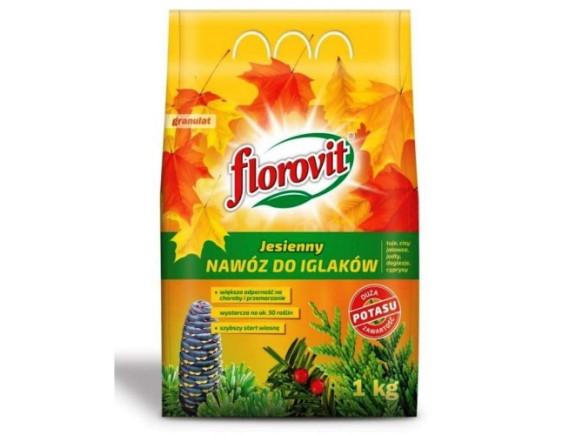 Удобрение Florovit для хвойных растений осеннее, пакет 1кг