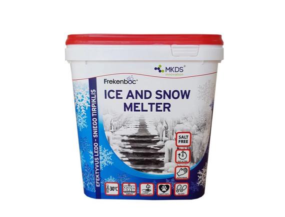 """Антигололедный реагент """"Растворитель льда и снега"""" MKDS"""