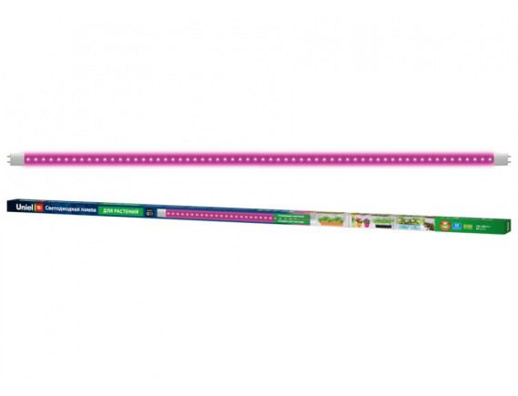 Сменная фитолампа UNIEL LED-T8-18W/SPSB/G13/CL PLP30WH