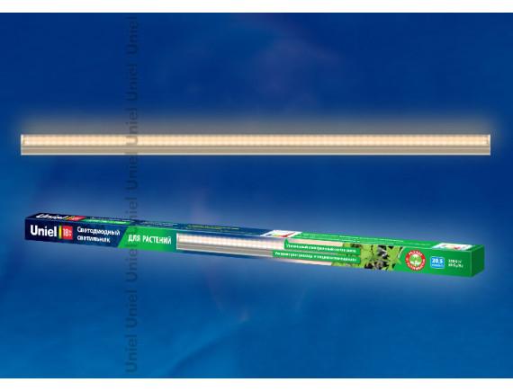 Светильник для растений светодиодный линейный Uniel ULI-P10-18W/SPFR IP40 (560 мм)