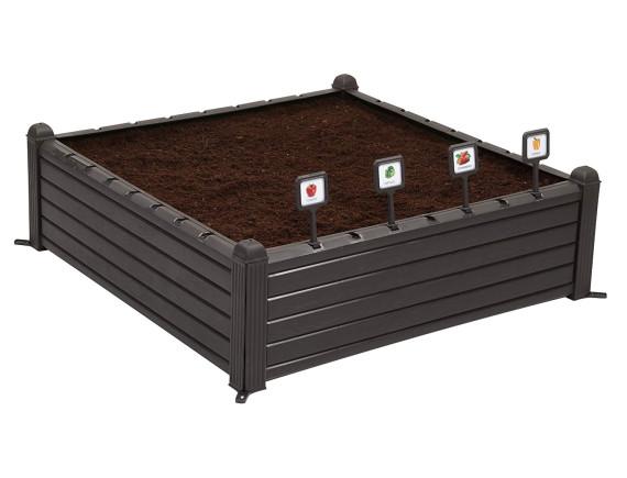 Готовая грядка Raised Garden Bed, черный
