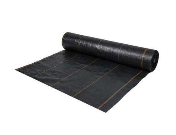 Агроткань против сорняков, цвет черный, 70 гр/м², размер 1,6 х 100м BRADAS, РП