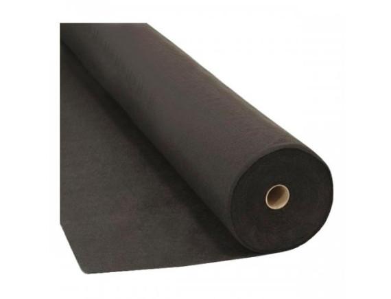 Садовый геотекстиль Агротекс Гео 90 УФ, цвет черный (в рулоне), 3,2x100 м
