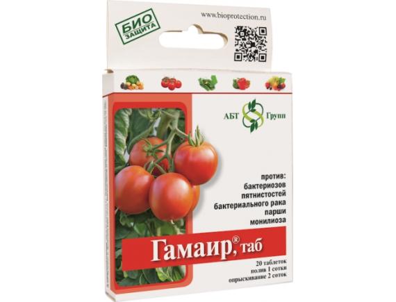 Биобактерицид Гамаир, ТАБ, 20 таблеток