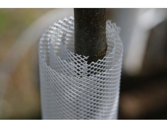 Защита стволов деревьев - самозакручивающаяся сетка TREEX (белая)