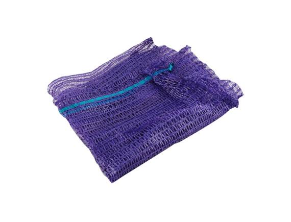 Мешок сетчатый для овощей (сетка овощная), 25х39см, 5кг, фиолетовый