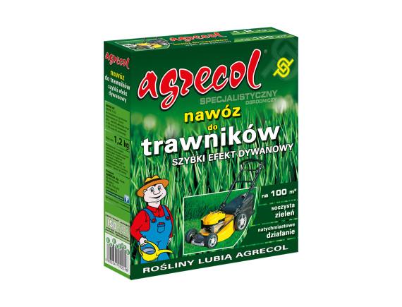 Удобрение Agrecol для газона ковровый эффект