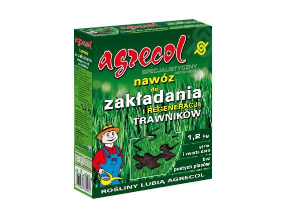 Удобрение Agrecol для закладки газона