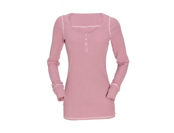 Топ GardenGirl с длинным рукавом (розовый)