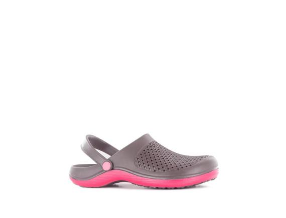 Сабо из эва женские ультралегкие SUN Grey & Pink AJS-Blackfox
