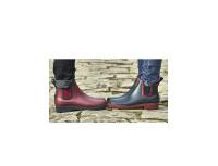 Ботинки-челси резиновые Briers (красные)