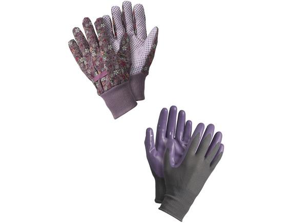 Набор садовых перчаток Briers Vintage Floral, 2 пары