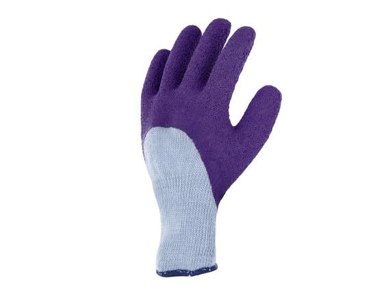 Перчатки латексные для роз Rosiers Blackfox (фиолетовые)