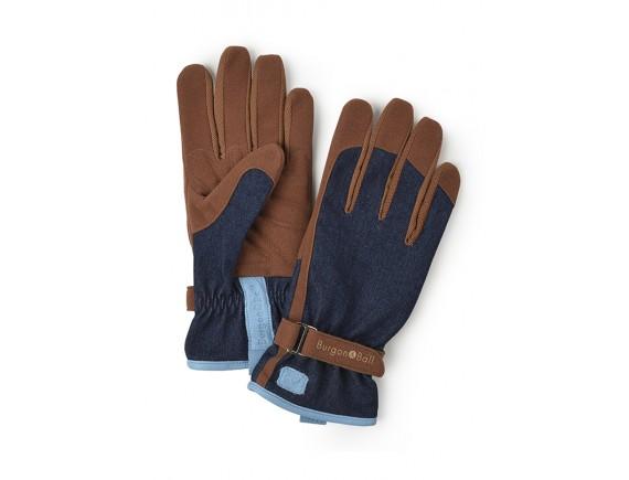 Перчатки садовые универсальные «Любимые» Burgon & Ball (синие)