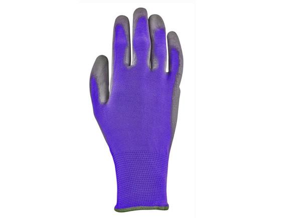 Перчатки тонкие для цветов и работы в саду Violet Colors Blackfox