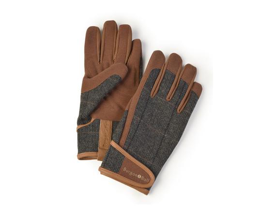 Перчатки мужские Tweed Burgon & Ball