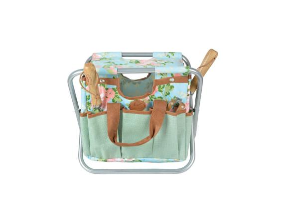 Садовый стул с сумкой для инструментов Rose Esschert Design