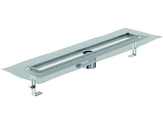 Душевой канал ACO ShowerDrain E+ line с горизонтальным фланцем (92-140 мм)