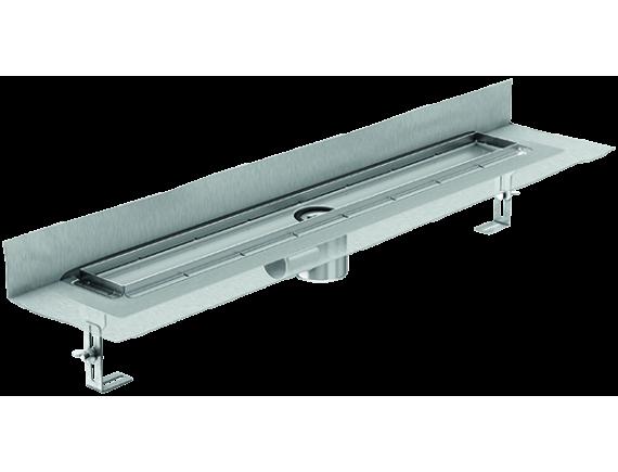 Душевой канал ACO ShowerDrain E+ line с вертикальным фланцем (66-140 мм)