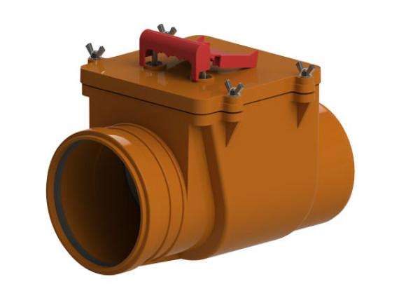 Канализационный обратный клапан ТП-85.100