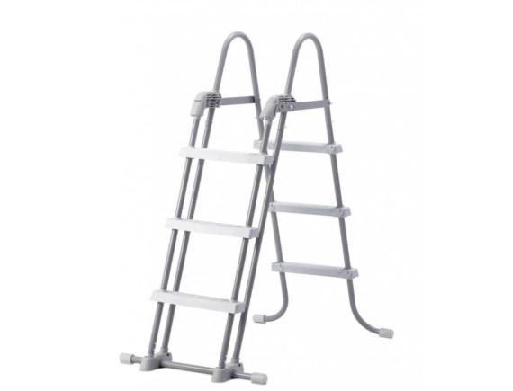 Лестница с платформой для бассейнов с высотой борта от 90 до 107 см Intex
