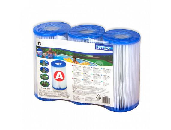 Набор картриджных фильтров Intex тип.А (3 шт.)